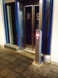 Aufzug steht schon wieder still: S-Bahnhaltepunkt Millrath