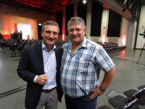 Thomas Geisel und Peter Urban: OB kommt nach Erkrath