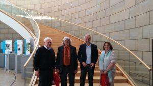 Foto von links nach rechts Heinz Kurtz, Dieter (Timo) Kremerius, Manfred Krick, Christa Riddering Foto: Florian Peters