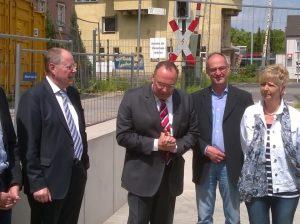 Peer Steinbrück, Rainer Latsch, Detlef Ehlert, Sabine Lahnstein