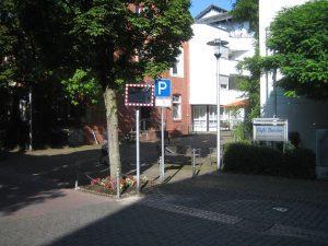 Verkehrsspiegel Bahnstr.