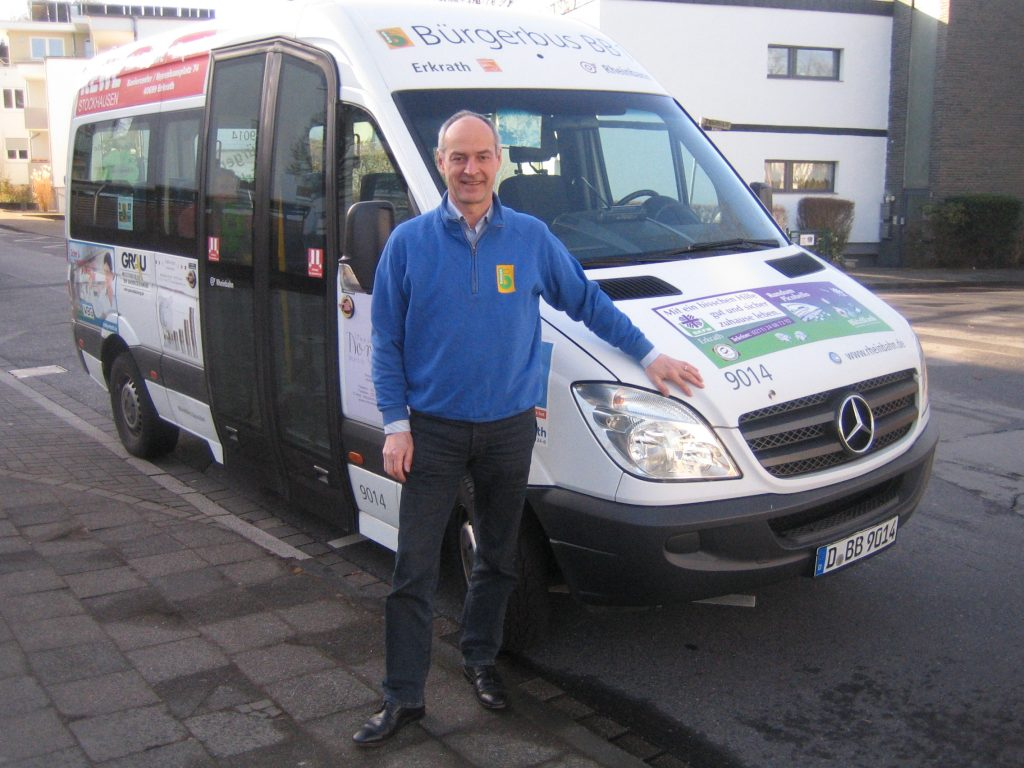 Bürgerbus mit erweitertem Fahrplan