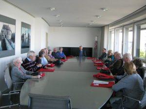 Konferenzathmoshäre mit Manfred Krick