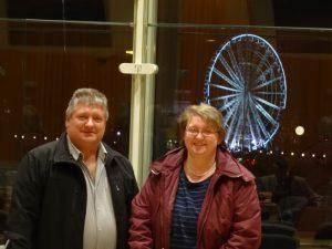 Peter Urban und Marleen Buschmann