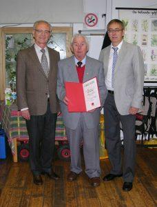 Dr. Klaus Hänsch und Klaus Bauer ehren Horst Wangerin für 50 Jahre in der SPD