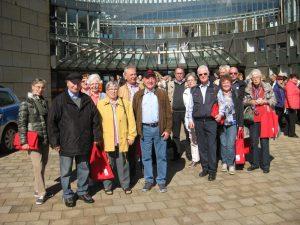 Mitglieder von Sechzig + besuchten kürzlich den Landtag in Düsseldorf
