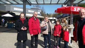 SPD auf dem Hochdahler Markt