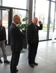 Peer Steinbrück und Detlef Ehlert