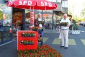 Adi Franke und Dieter Becker in Unterfeldhaus aktiv