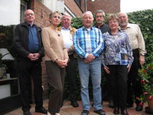 Der AG-Vorstand, von links: Horst Esselborn, Brigitte Hampel, Dieter Becker, Adi Franke, Jochen Lohoff, Siegrid Koch, Jürgen Hampel