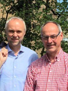 Manfred Krick und Detlef Ehlert