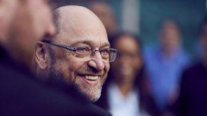 Martin Schulz im Gespräch